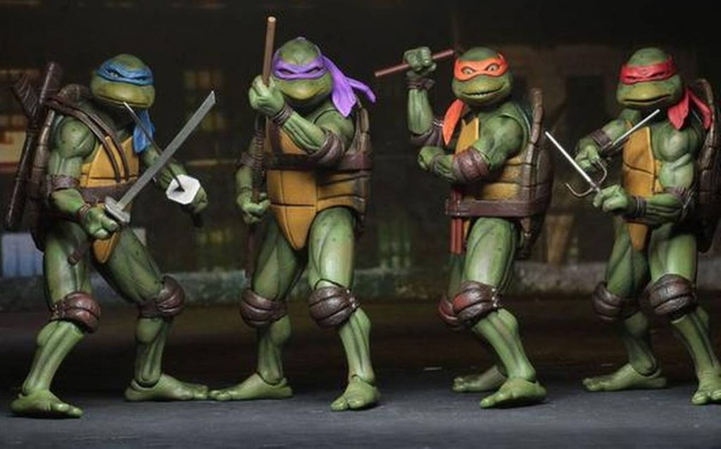 Ninja turtle animation